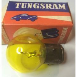 Bulb 6V 45/15W BA21d yellow