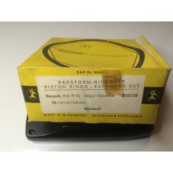 Piston rings for Renault