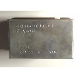 Centrale clignotante Klaxon M4