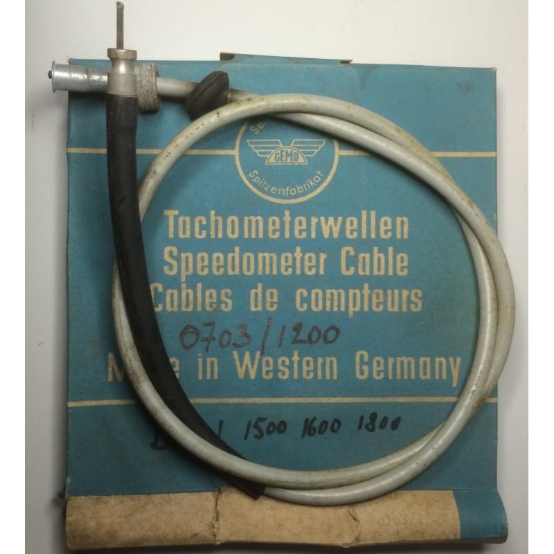 BMW speedometer