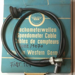 FIAT 124 speedometer cable